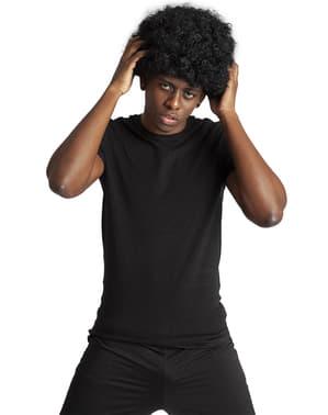 Peluca funky afro negra