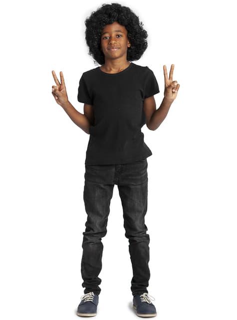 Funky Fekete Afro Paróka