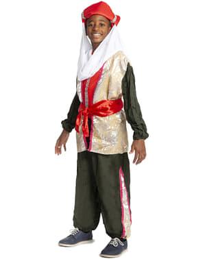 Disfraz de paje Real de Baltasar para niño