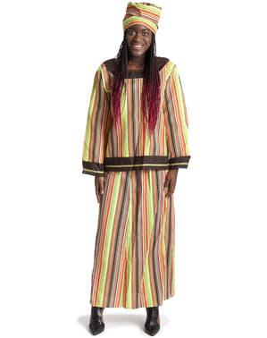 Елегантний африканський костюм жінки