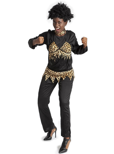 Disfraz de zulú tradicional para mujer - mujer
