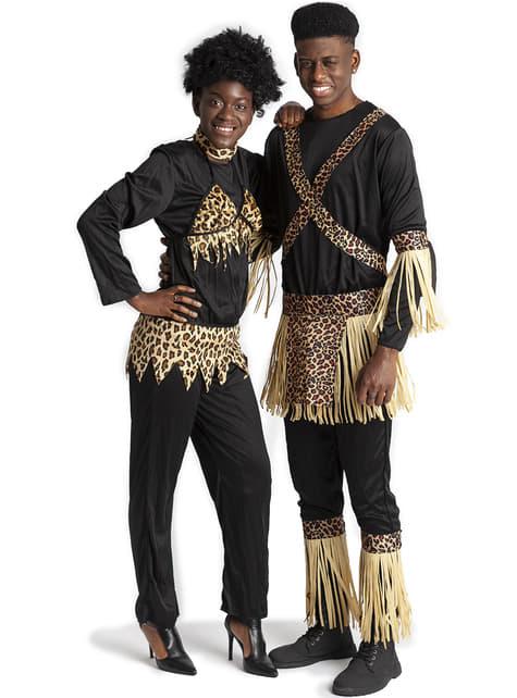 Disfraz de zulú tradicional para mujer - Halloween