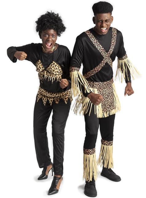 Disfraz de zulú tradicional para mujer - Carnaval