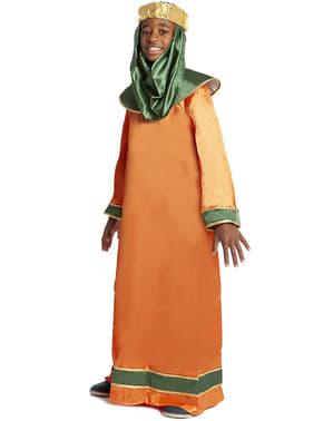 Baltasar kostuum wijze uit het oosten van de bijbel voor jongens