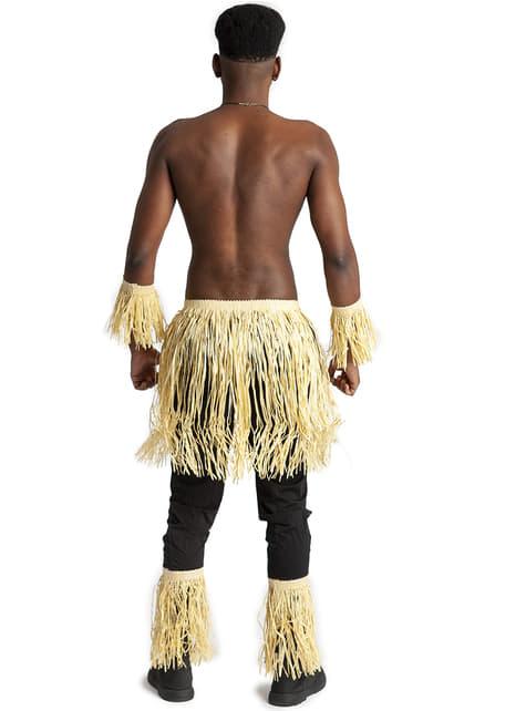 Kit de Accesorios Zulú para adulto - Halloween