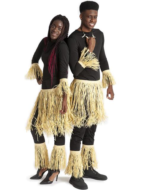 Kit de Accesorios Zulú para adulto - Carnaval