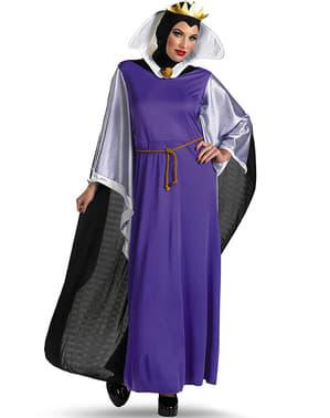 Disfraz de Reina Malvada de Blancanieves deluxe para mujer