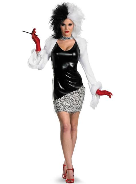 Sexy Cruella De Vil Adult Costume