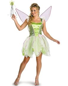 tinkerbell kostum fur damen deluxe