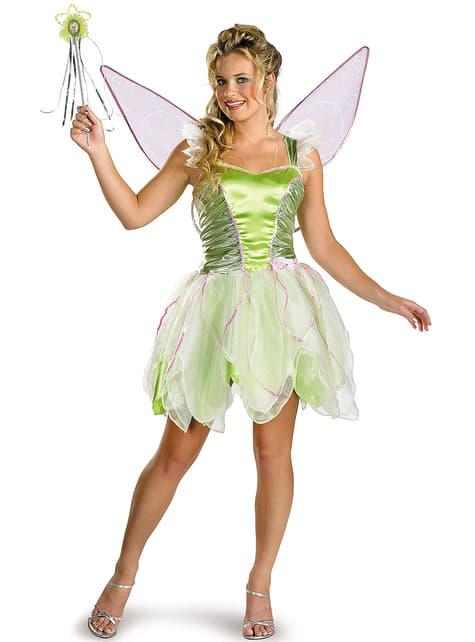 Deluxe Tinkelbel kostuum voor vrouw