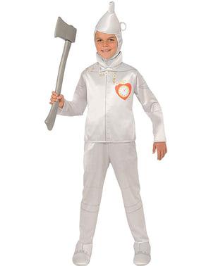 Costume Uomo di latta da bambino