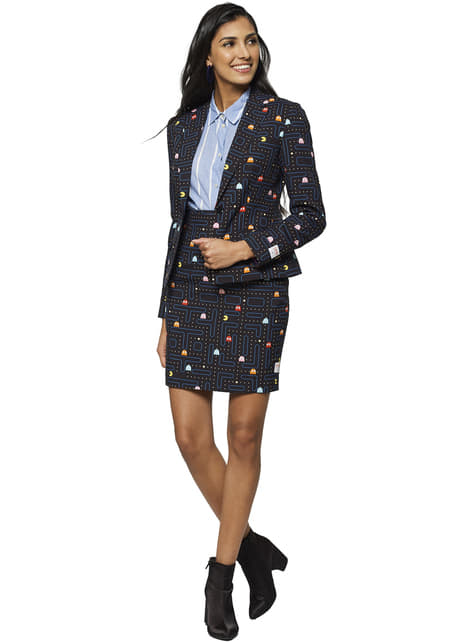 Pac-Man Opposuits suit for women