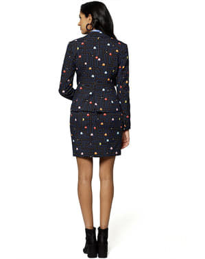 Traje de Pac-Man Comecocos para mujer - Opposuits