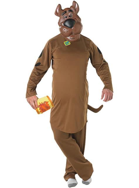 Klassiek Scooby Doo kostuum voor volwassenen