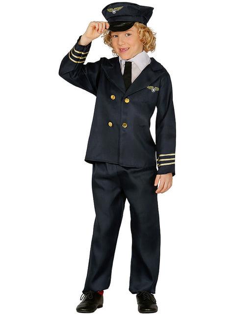 Pilot Kostüm für Kinder