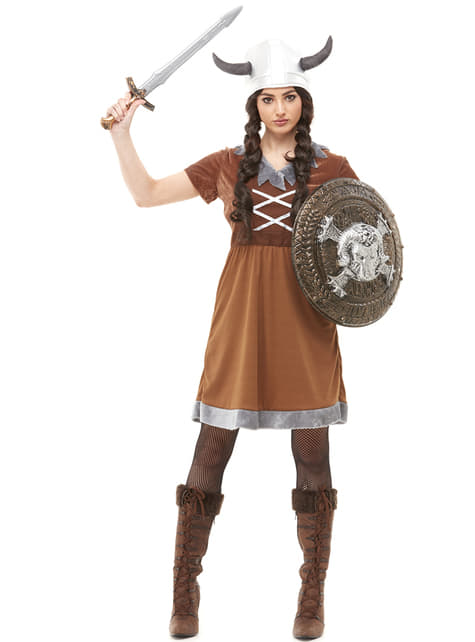 Fato de viking para mulher