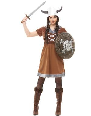 Vikingadräkt dam