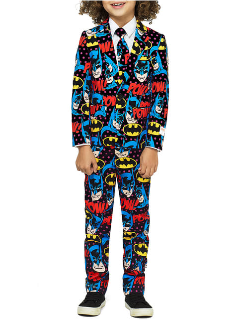 Traje The Dark Knight Opposuits para niño