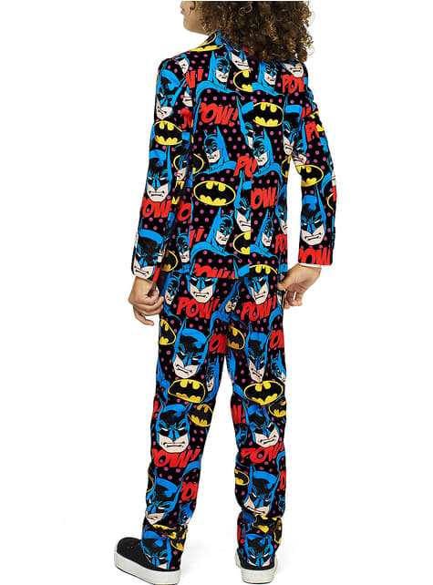 Traje The Dark Knight Opposuits para niño - hombre