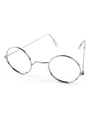 Runda glasögon för vuxen
