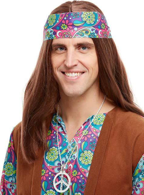 Collier hippie années 60
