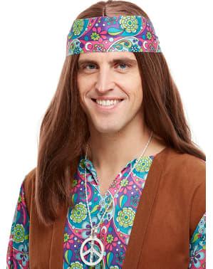 Naszyjnik peace hipis