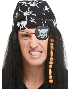 4d711a30a8fe Accesorios piratas para disfraz  parches de pirata