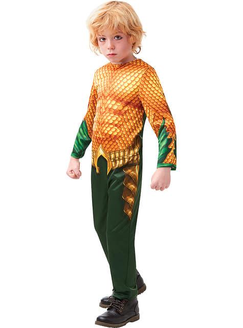 Disfraz de Aquaman classic para niño