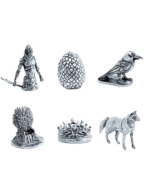 Monopoly Game of Thrones Deluxe Spanish Edition