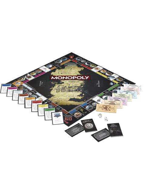 Monopoly de Juego de Tronos Edición Deluxe en español  - barato