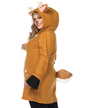 Plus size Christmas reindeer costume for women