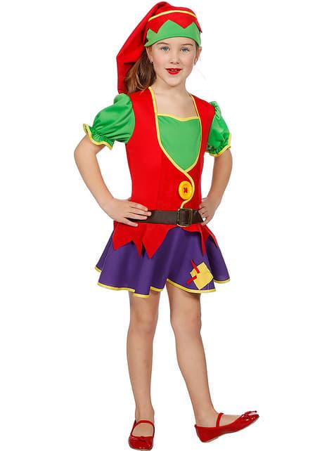 Elf costume for girls