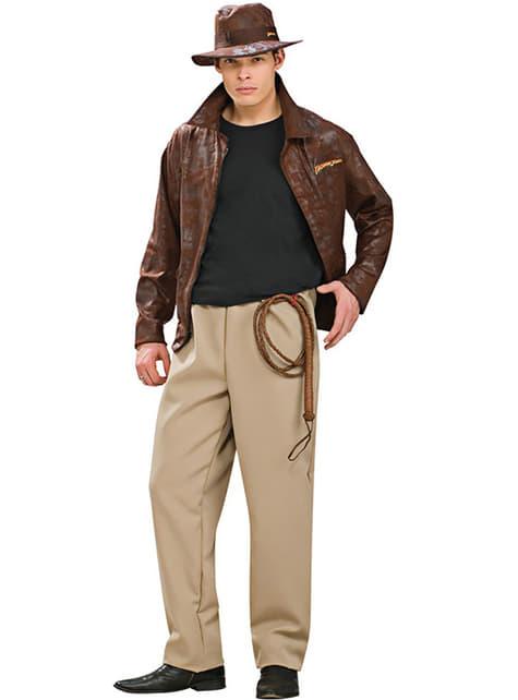 Deluxe kostým Indiana Jones pre dospelých