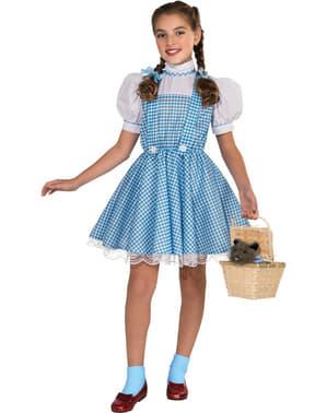 Fato de Dorothy para menina Deluxe