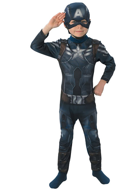Kostium Kapitan Ameryka The Winter Soldier dla chłopca