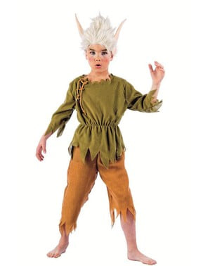 Lilvast Elf bērnu kostīms