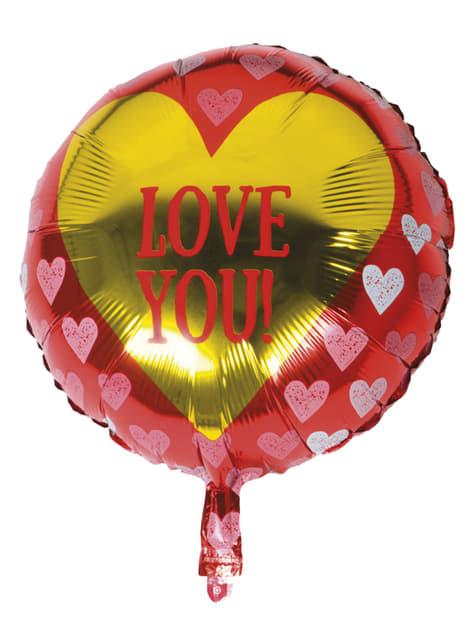 Balon foliowy Serca - Love You