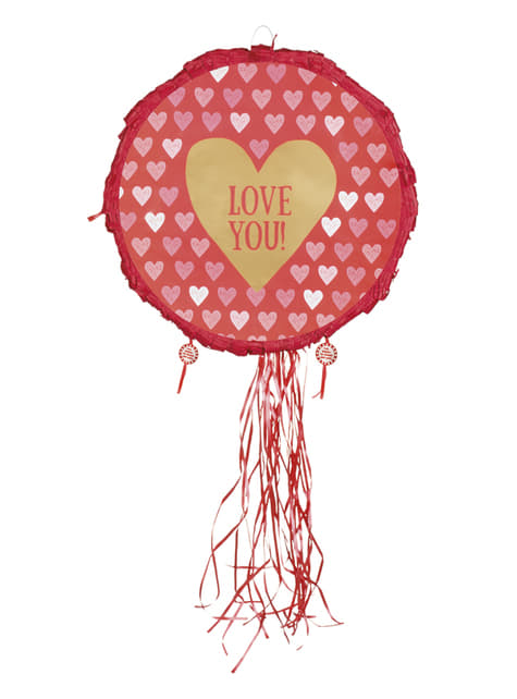 Pinata cœur – Love You