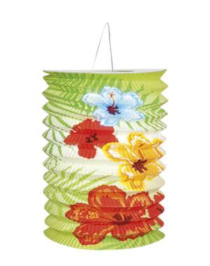 Набір з 2 гавайських фламінго ліхтарі - гібіскус