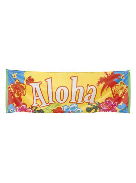 Bandera hawaiana aloha - Hibiscus