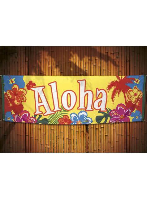 Bandeira havaiana aloha - Hibiscus