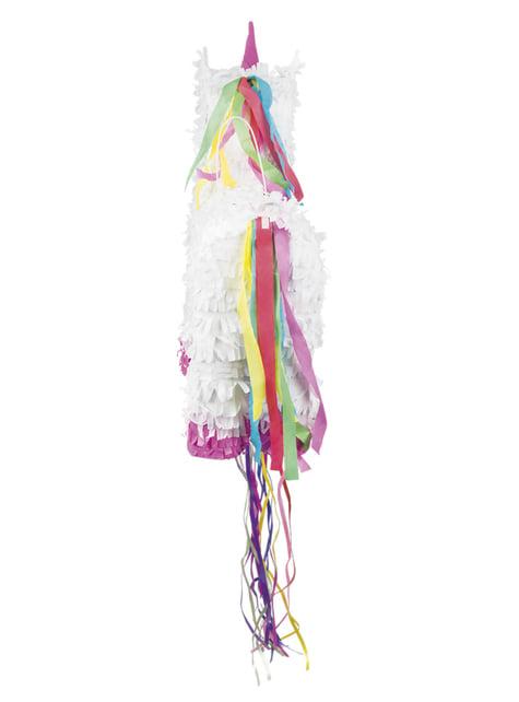 Piñata de unicornio blanco - para tus fiestas