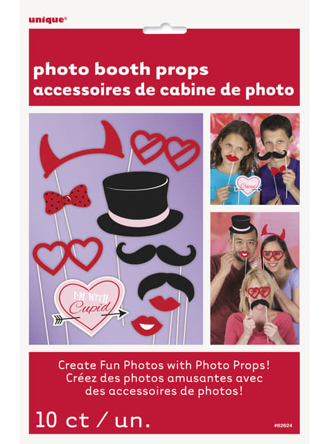 Accesorios de San Valentin para photocall