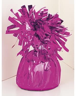 Fioletowy obciążnik do balonu