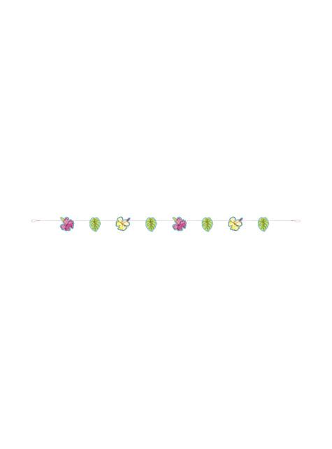 Guirnalda flores y hojas tropical - Tropi-cool