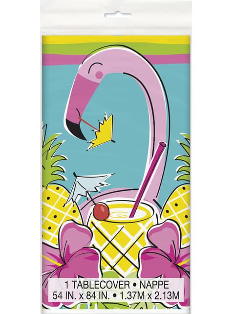 Tropische Flamingo und Ananas Tischdecke - Tropi-cool