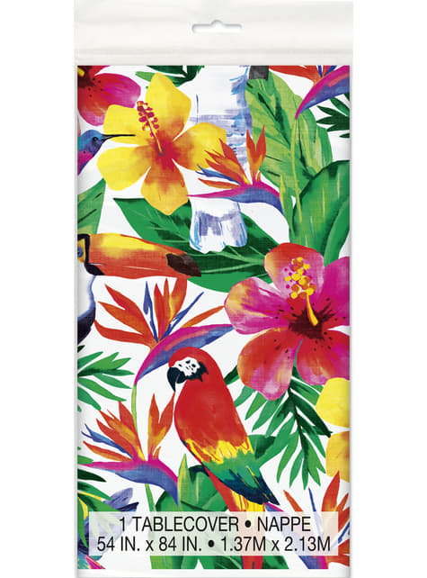 Tropical summer tablecloth - Palm Tropical Luau