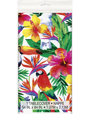 Toalha de mesa verão tropical - Palm Tropical Luau