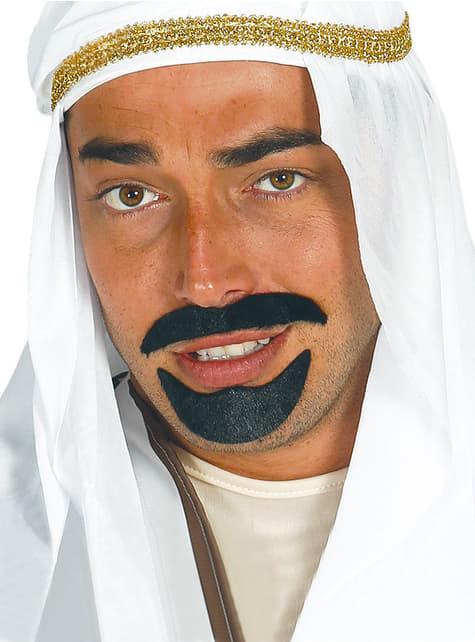 Perilla y bigote de jeque