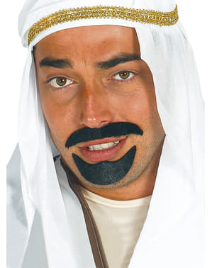 Sheik Moustache and Goatee Set